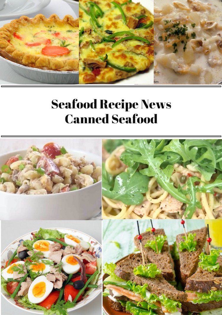 Canned Seafood Recipes