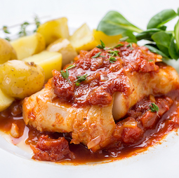Baked Cod Portuguese
