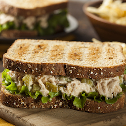 Canned Fish Sandwiches