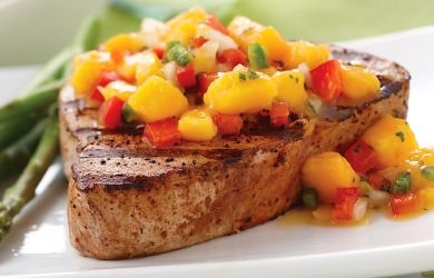 Grilled Fish with Salsa Recipe