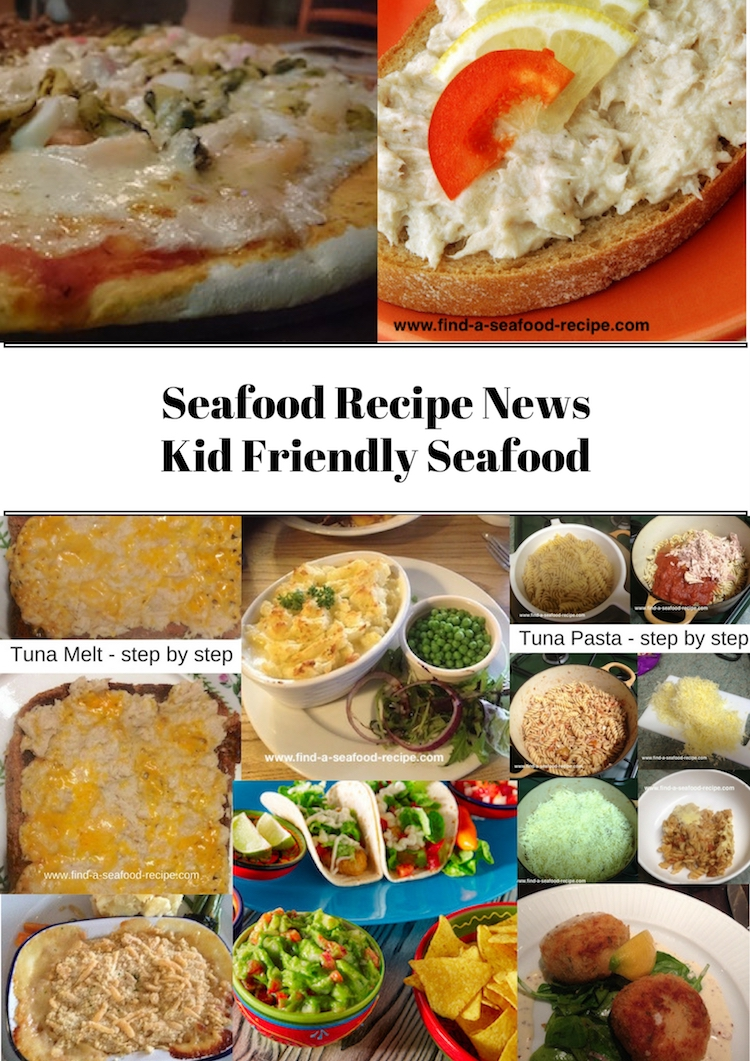 Kid Friendly Seafood Recipes