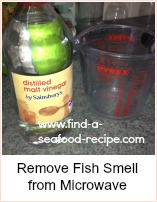 Microwave salmon get rid of fish smells in your microwave for How to get rid of fish odor