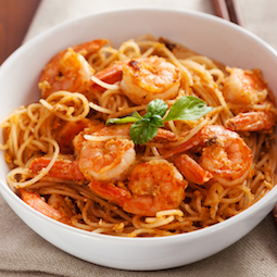 Thai Shrimp with Noodles