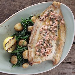 Baked Dover Sole